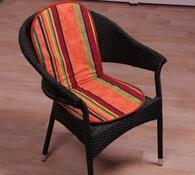 Sedáky na židle Liliana, modrá