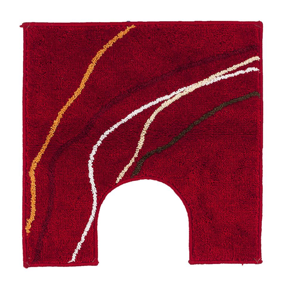 Grund WC předložka červená, 50 x 50 cm