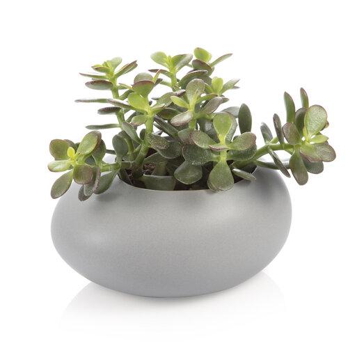 Tescoma Obal na velký květináč FANCY HOME Stones, šedá