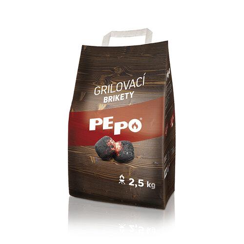 PE-PO Drevené brikety, 2,5 kg