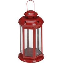 Lampáš na čajovú sviečku Tharsis, červená