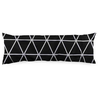 4Home Povlak na Relaxační polštář Náhradní manžel Galaxy černobílá, 55 x 180 cm