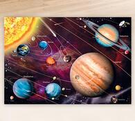 Puzzle Neon Vesmír Educa, 1000 dílků, vícebarevná