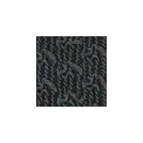 Multielastický potah na křeslo Martin tmavě šedá, 70 - 110 cm