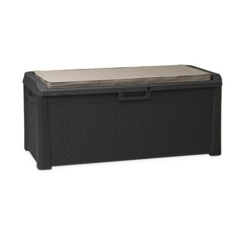 Aldo Multifunkční úložný box Santorini Plus šedá, 560 l