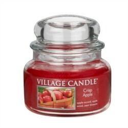 Village Candle Vonná svíčka, Svěží jablko - Crisp Apple, 269 g