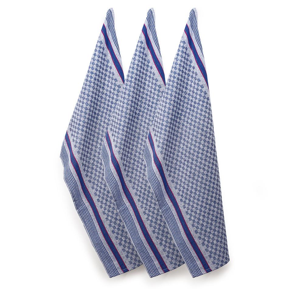 VOG Pracovní ručník Kostka, 45 x 90 cm, sada 3 ks