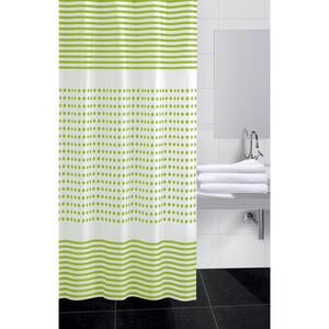 Koopman Sprchový závěs Darja zelená, 180 x 180 cm