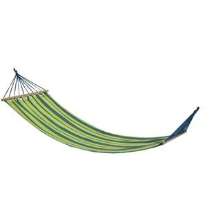 Houpací závěsné lehátko Hammock zelená, 200 x 80 cm