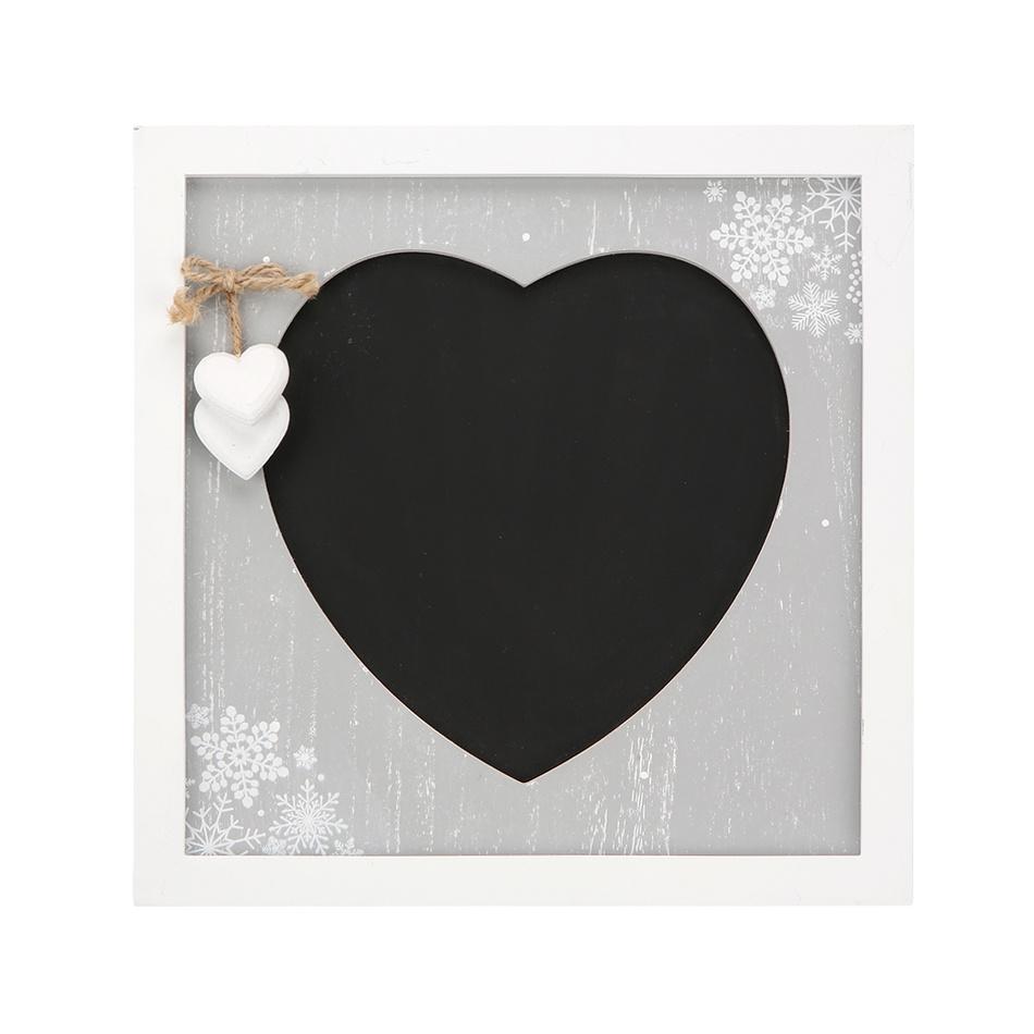 Altom Dekorační tabule Love Winter 30 x 30 cm
