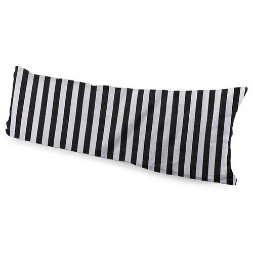 4Home Poszewka na poduszkę Mąż zastępczy Galaxy czarno-biały, 55 x 180 cm