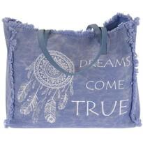 Dreams come true strandtáska, világos kék