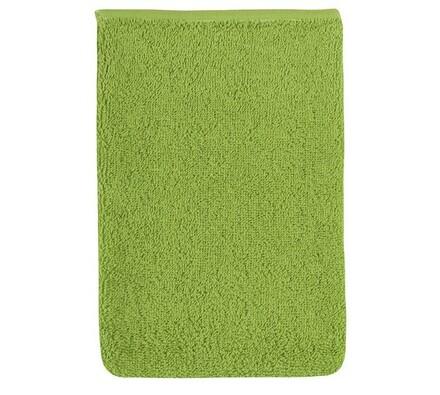 Froté žínka, olivová, 17 x 25 cm, zelená, 17 x 25 cm
