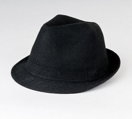 Pánský klobouk Karpet 8090, černý, 60