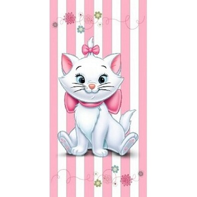 Osuška Kočka Marie, 75 x 150 cm