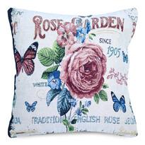 Obliečka na vankúšik Gobelín Rose garden, 45 x 45 cm
