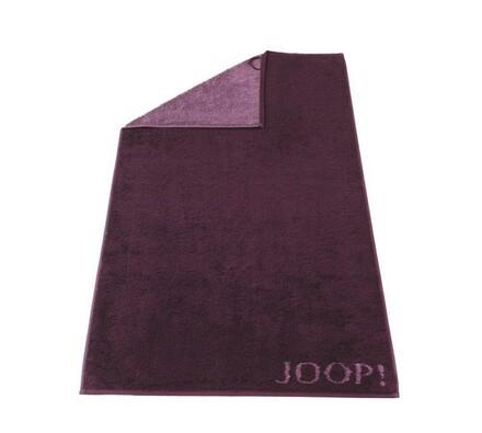 JOOP! osuška Doubleface fialová, 80 x 150 cm