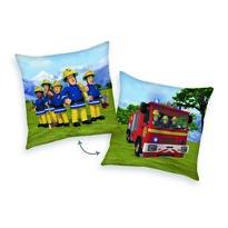 Pernuță Pompierul Sam Mașini, 40 x 40 cm