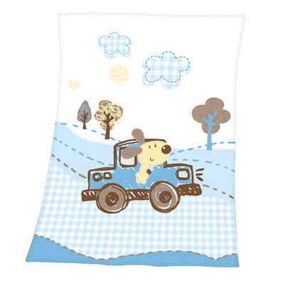 Dětská deka Luis Cars, 75 x 100 cm