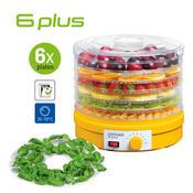 Concept SO-1015L sušička ovoce 6 plus s platem na bylinky