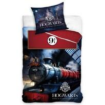 Detské bavlnené obliečky Harry Potter Rokfortský expres, 140 x 200 cm, 70 x 90 cm