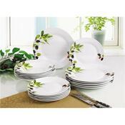 Banquet 18-częściowy zestaw talerzy Olives