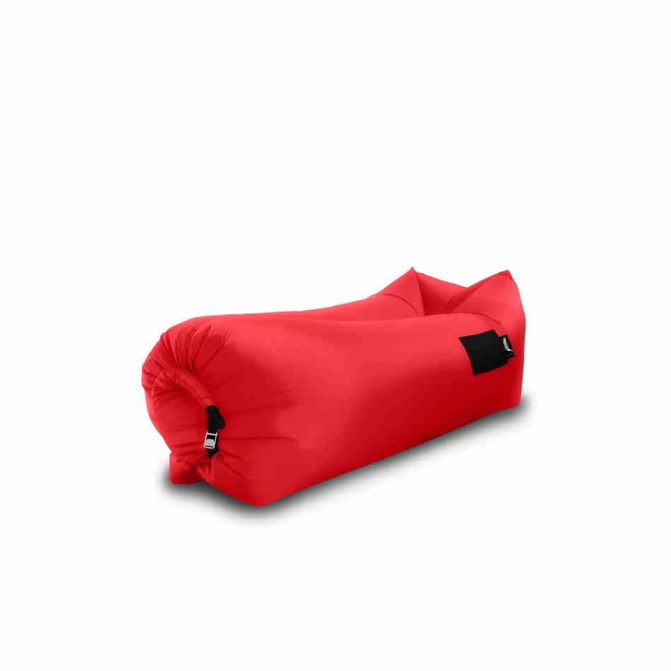 Sedací nafukovací vak BANANA BAG červená