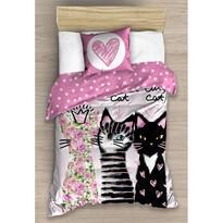 Bavlnené obliečky Tri Mačky, 140 x 200 cm, 70 x 80 cm