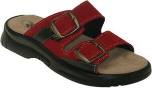 Dámské zdravotní pantofle Santé, červená, 41