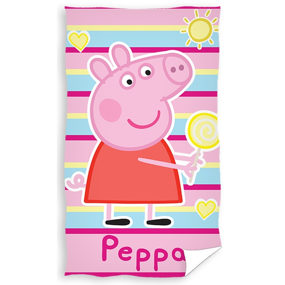 TipTrade Dětský ručník Prasátko Peppa, 30 x 50 cm