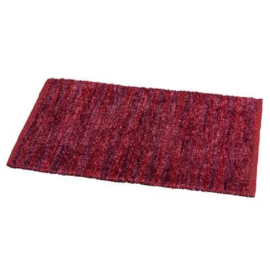 Kusový koberec Denver vínová, 50 x 80 cm