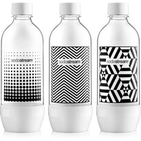 SodaStream Fľaša TriPack Black&White 1 l
