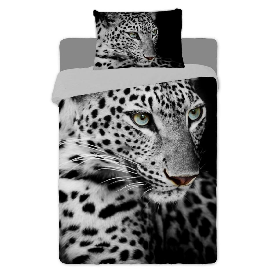 Jerry Fabrics bavlna povlečení fototisk -Leopard 2016 140x200 70x90