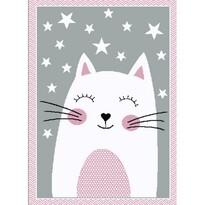 Kusový detský koberec Kiddo 0132 pink