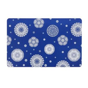 Prostírání Blue laces modrá, 28 x 43 cm