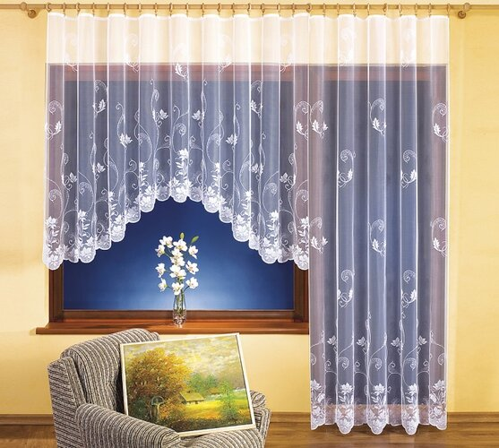 Záclona Věra, 350 x 160 cm