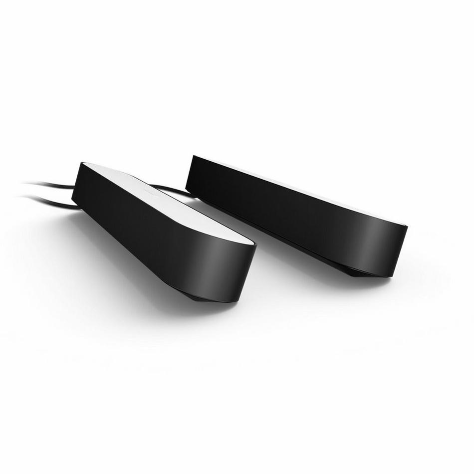 PHILIPS PLAY COL Hue White and color ambiance, dvě lišty + adaptér, Černá 7820230P7