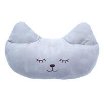 Polštářek Kočka Mazlík hnědá, 40 x 26 cm