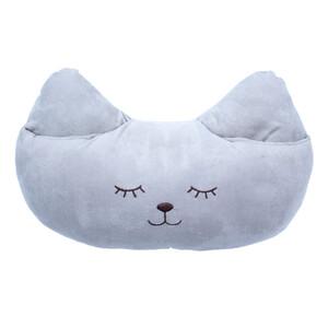BO-MA Trading Polštářek Kočka Mazlík hnědá, 40 x 26 cm