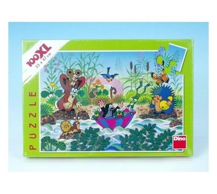 Puzzle Krtečkova plavba Dino Toys, 100XL dílků, vícebarevná