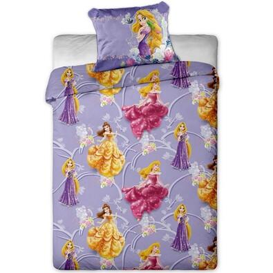Dětské povlečení Princezny micro, 140 x 200 cm, 70 x 90 cm