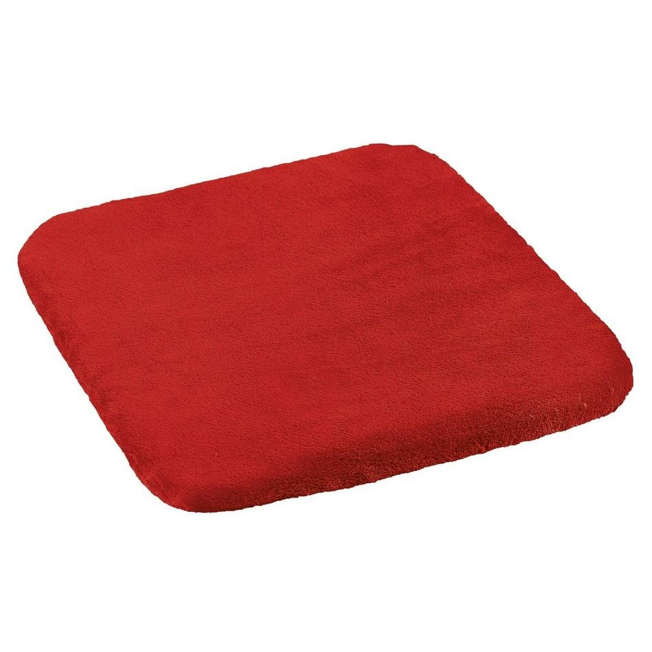 Poza Perna scaun Korall micro, rosu, 40 x 40 cm