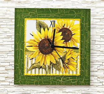 Nástěnné hodiny slunečnice