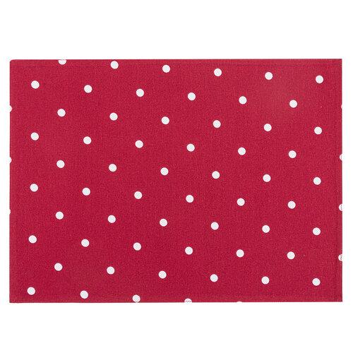 Suport farfurie Bulină, vișiniu, 33 x 45 cm