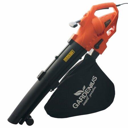 Aspirator electric pentru frunze Gardenius  GE5B300, 3000 W