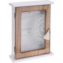 Skříňka na klíče Mandal, 26 x 20 cm