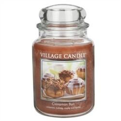 Village Candle Vonná svíčka Skořicový koláč - Cinnamon Bun, 645 g