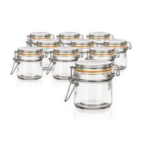 Banquet Lina hermetikusan zárható üveg tároló 100 ml, 10 db-os készlet
