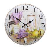 Nástěnné hodiny Levandule HLC4066