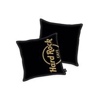 Mała poduszka Hard Rock Cafe Gold print, 40 x 40 cm